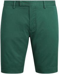 Polo Ralph Lauren Slim-Fit Chinoshorts mit Stretch - Grün