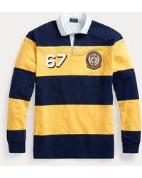 Polo Ralph Lauren Chemise de rugby en jersey rayé - Bleu