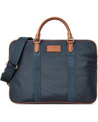 Ralph Lauren Convertible Commuter Bag - Blue