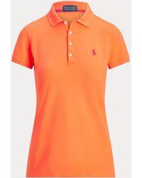 Ralph Lauren Golf Polo Deportivo Tailored Fit - Naranja