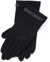 Ralph Lauren Wool-blend Tech Gloves - Black