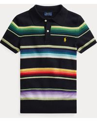 Polo Ralph Lauren - Polo in cashmere a righe - Lyst
