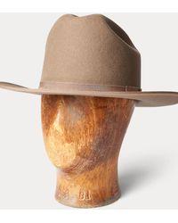 RRL Cappello Cattleman in feltro - Multicolore