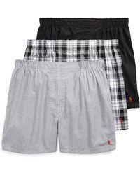 Polo Ralph Lauren - Assorted Boxer 3-pack - Lyst