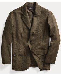 RRL Giacca in tweed di misto lana - Multicolore