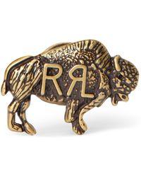 Ralph Lauren Buffalo Pin - Metallic