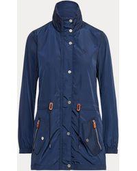 Ralph Lauren Golf Hooded Golf Jacket - Blue