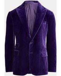 Ralph Lauren Purple Label - Kent Velvet Dinner Jacket - Lyst