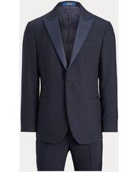 Polo Ralph Lauren Polo Barathea Peak-lapel Tuxedo - Blue