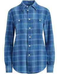 Polo Ralph Lauren - Relaxed Plaid Twill Shirt - Lyst
