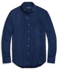 Polo Ralph Lauren - Classic Fit Indigo Twill Shirt - Lyst