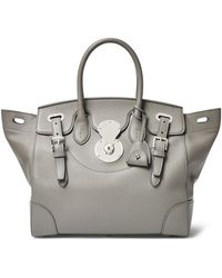 Ralph Lauren - Tumbled Leather Soft Ricky 33 - Lyst