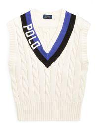 Polo Ralph Lauren Polo Cotton Cricket Vest - Multicolor