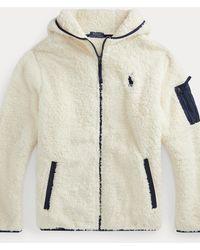 Polo Ralph Lauren Sweat à capuche zippé en molleton - Neutre