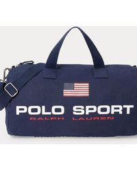Polo Ralph Lauren Polo Sport Segeltuchreisetasche - Blau