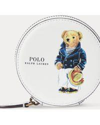Polo Ralph Lauren Porte-monnaie Polo Bear en cuir - Multicolore