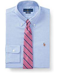 Polo Ralph Lauren | Slim Fit No-iron Dress Shirt | Lyst