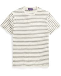 Ralph Lauren Purple Label - Custom Fit Lisle T-shirt - Lyst