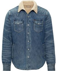 Polo Ralph Lauren - Fleece-lined Western Overshirt - Lyst