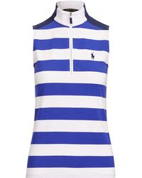 ab75835370399 Ralph Lauren Golf - Tailored Fit Striped Golf Polo - Lyst