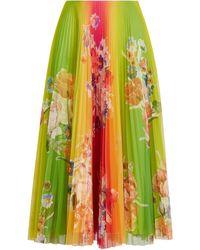 Ralph Lauren Trivelas Floral Pleated Skirt - Multicolour