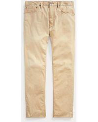 Polo Ralph Lauren Pantalon Prospect droit stretch - Neutre