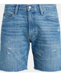 Polo Ralph Lauren Short slim Sullivan en denim - Bleu