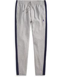Polo Ralph Lauren Pantalon en interlock de coton - Gris