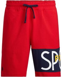 Ralph Lauren Polo Sport Jersey Short - Red