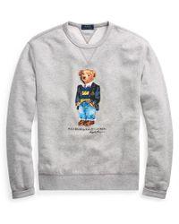 Polo Ralph Lauren - Preppy Bear Fleece Sweatshirt - Lyst