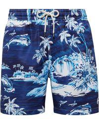 Polo Ralph Lauren 14 Cm-inch Traveler Swim Trunk - Blue