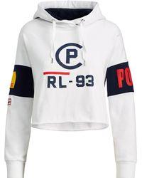 Polo Ralph Lauren - Cp-93 Cropped Fleece Hoodie - Lyst