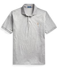 Ralph Lauren Soft Cotton Polo Shirt - Gray