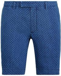 Polo Ralph Lauren Slim-Fit-Leinenshorts mit Sternen - Blau