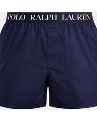 Polo Ralph Lauren Boxer slim en coton stretch - Bleu