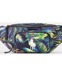 Polo Ralph Lauren Tropical Canvas Waist Pack - Green