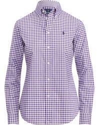 Polo Ralph Lauren - Slim Fit Poplin Shirt - Lyst