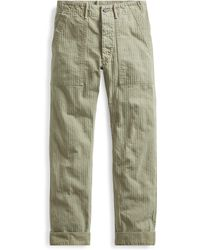RRL - Cotton Herringbone Army Pant - Lyst
