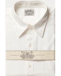 RRL Anzughemd aus Baumwolloxford - Weiß