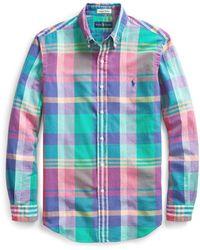 Polo Ralph Lauren - Classic Fit Madras Shirt - Lyst