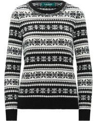 Ralph Lauren Fair Isle Sweater - Black
