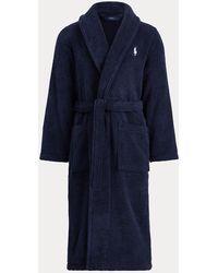 Polo Ralph Lauren Peignoir à col châle - Bleu
