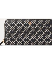 Ralph Lauren Heritage Continental Wallet - Black