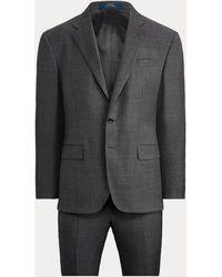 Polo Ralph Lauren Polo Wool Sharkskin Suit - Grey