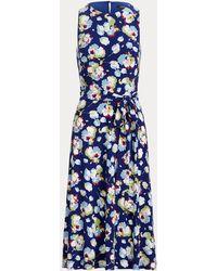 Ralph Lauren - Jerseykleid mit floralem Muster - Lyst