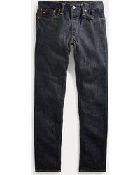 RRL Jeans stretti e aderenti con cimosa - Blu