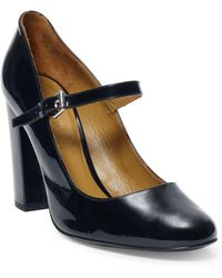 Polo Ralph Lauren Patent Leather Mary Jane - Black