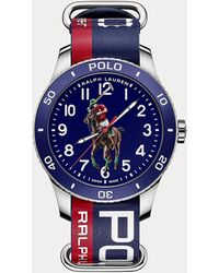 Polo Ralph Lauren Polo Sport Watch Blue Dial