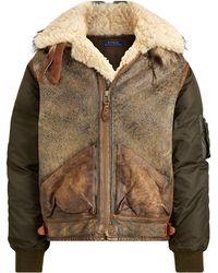 e94650e68bb RRL Wool-Linen Sport Coat in Brown for Men - Lyst
