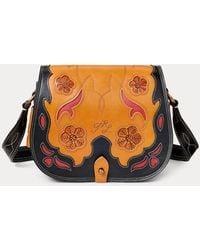 Polo Ralph Lauren Leather-inlay Small Crossbody - Multicolour